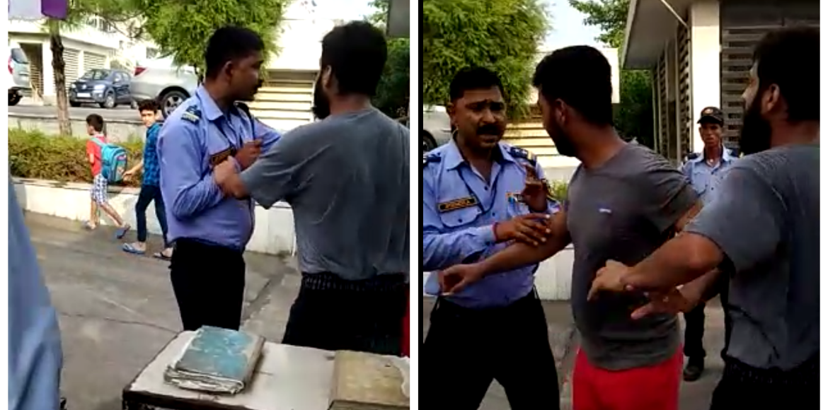 Noida: Guest gets into scuffle with guards at Jaypee Wish Town