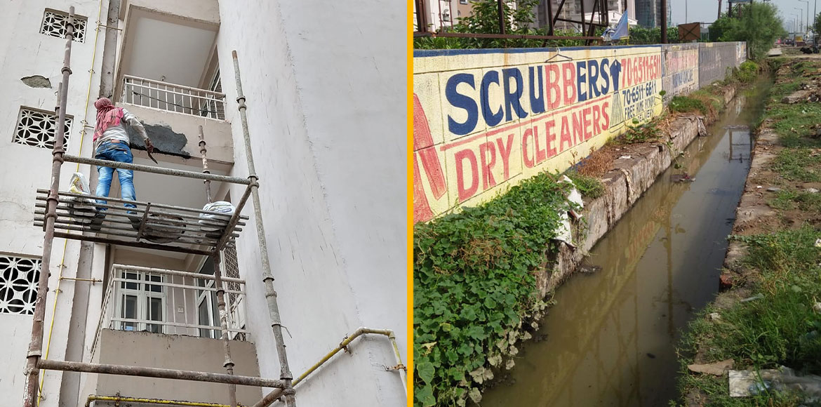 City Spidey Impact: Supertech Capetown residents get clean drain, repaired walls