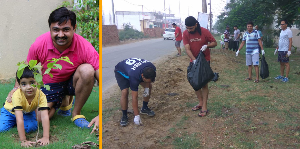 Cleanliness, plantation drive launched in Paramount Emotions. SEE PICS