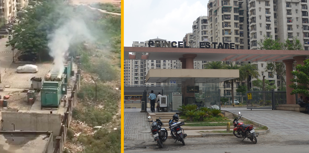 Residents of Princely Estate file complaint against 'polluting' generator sets