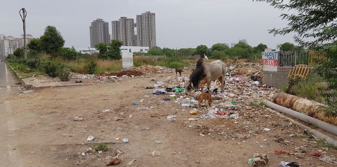 Resident complains, Noida Authority acts but 'issue' still persists!