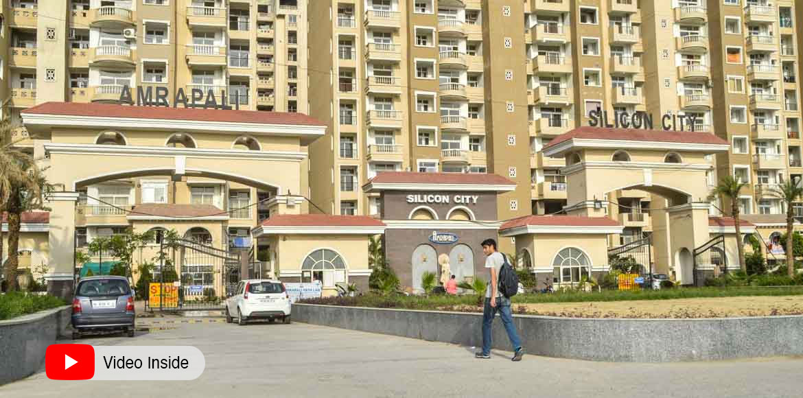Noida: Dead body of woman found between towers at Amrapali Silicon