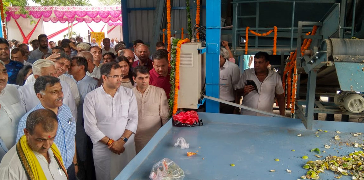 Biomethane plant to manage waste inaugurated in Dwarka