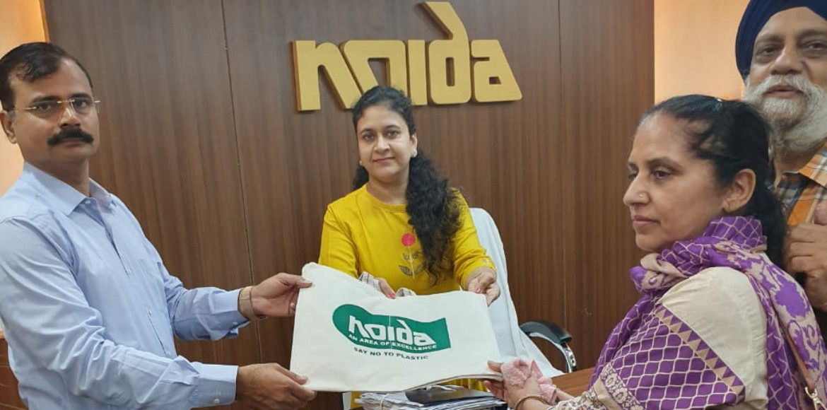 To reduce usage of polybags, Noida comes out with