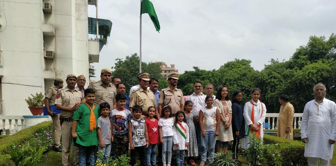 Photo Katha: Independence Day celebrated in Dwarka
