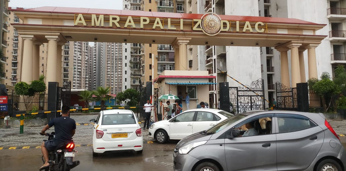 Amrapali Zodiac residents are true 'Khatron Ke Khiladi'