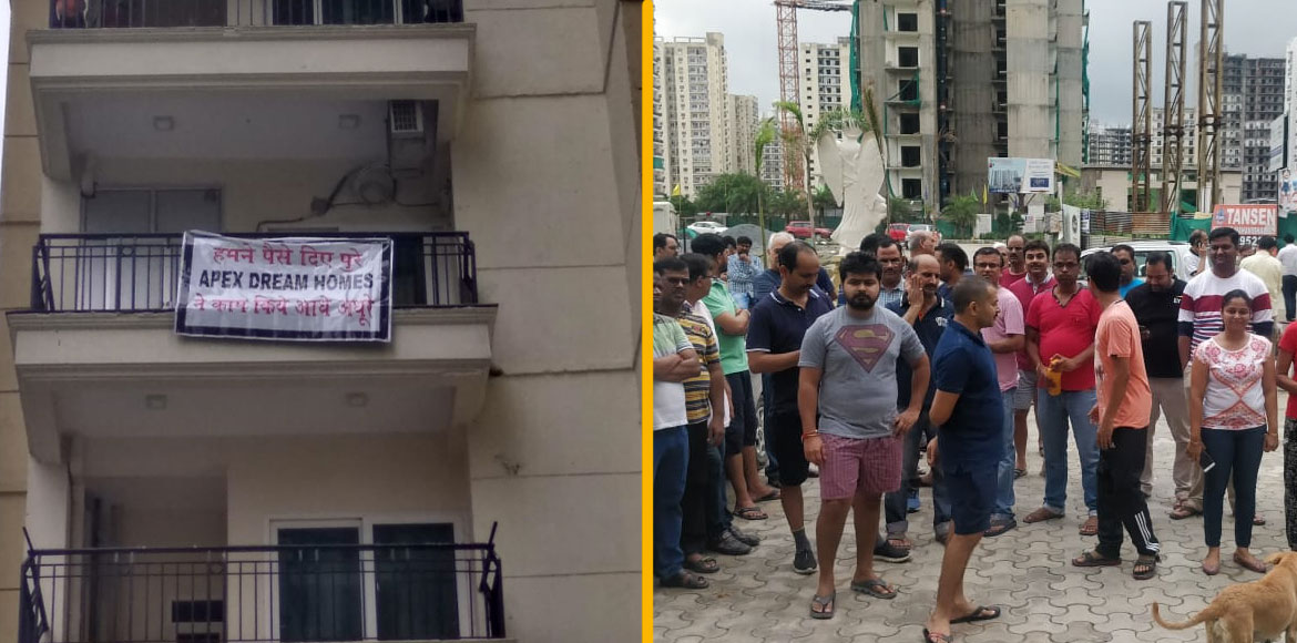 Noida: Builder cuts power supply of 50 families of Apex Athena