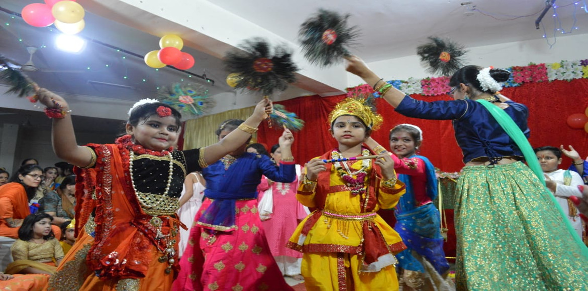 Photo Katha: Janmashtami celebrated in Aditya Mega City with full enthusiasm