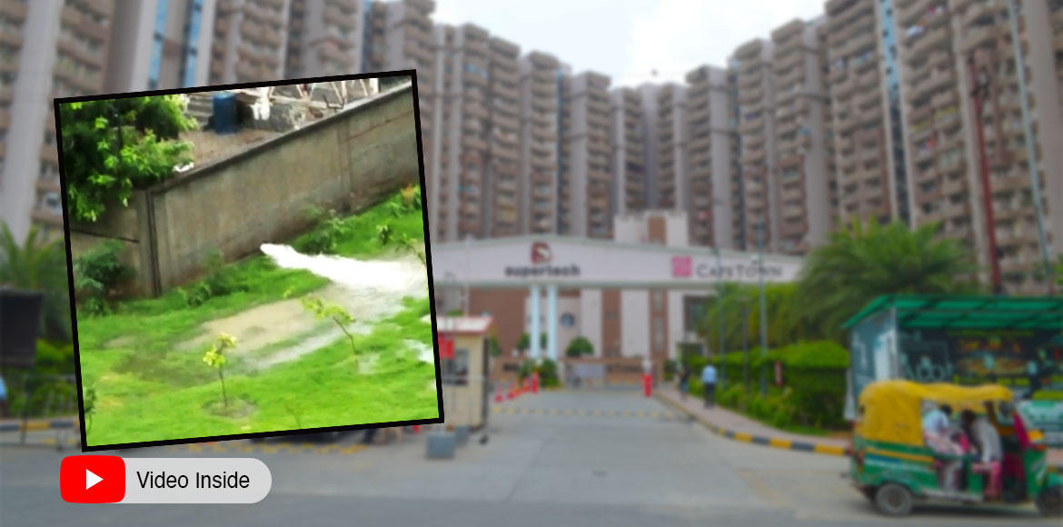 Noida: Residents complain against Supertech Capetown developer
