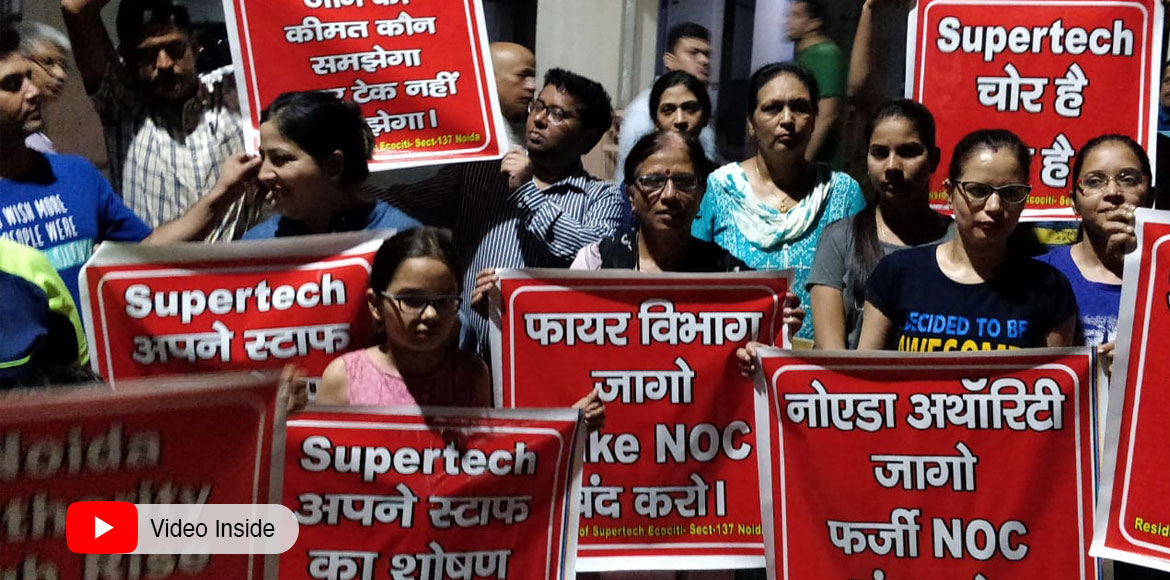 Noida: Supertech Ecociti residents demand investig
