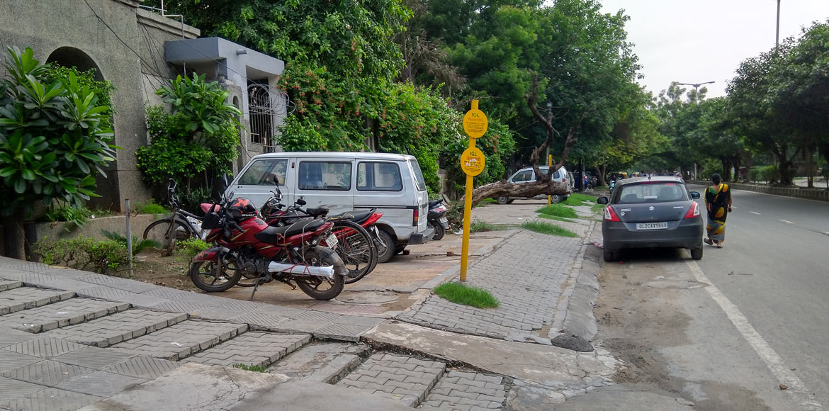 Dwarka: Green areas being concretised for parking