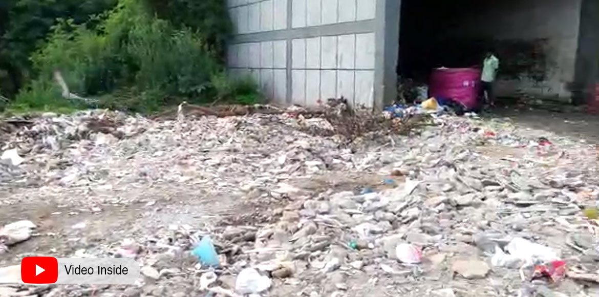 Dwarka sector 13 residents face garbage crisis