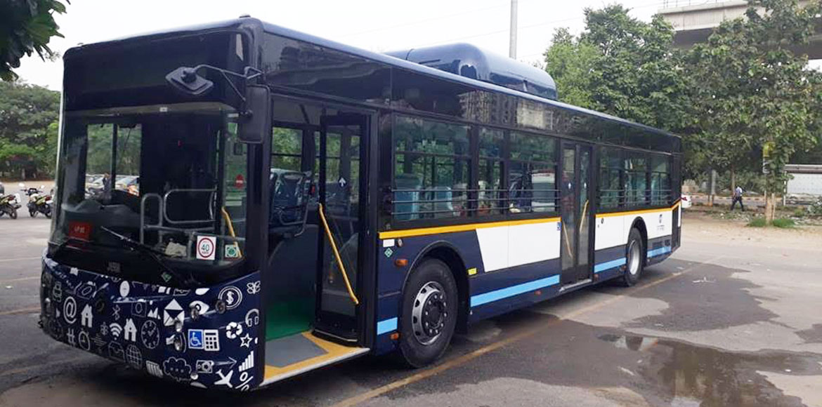 Gurugram gets a new bus service