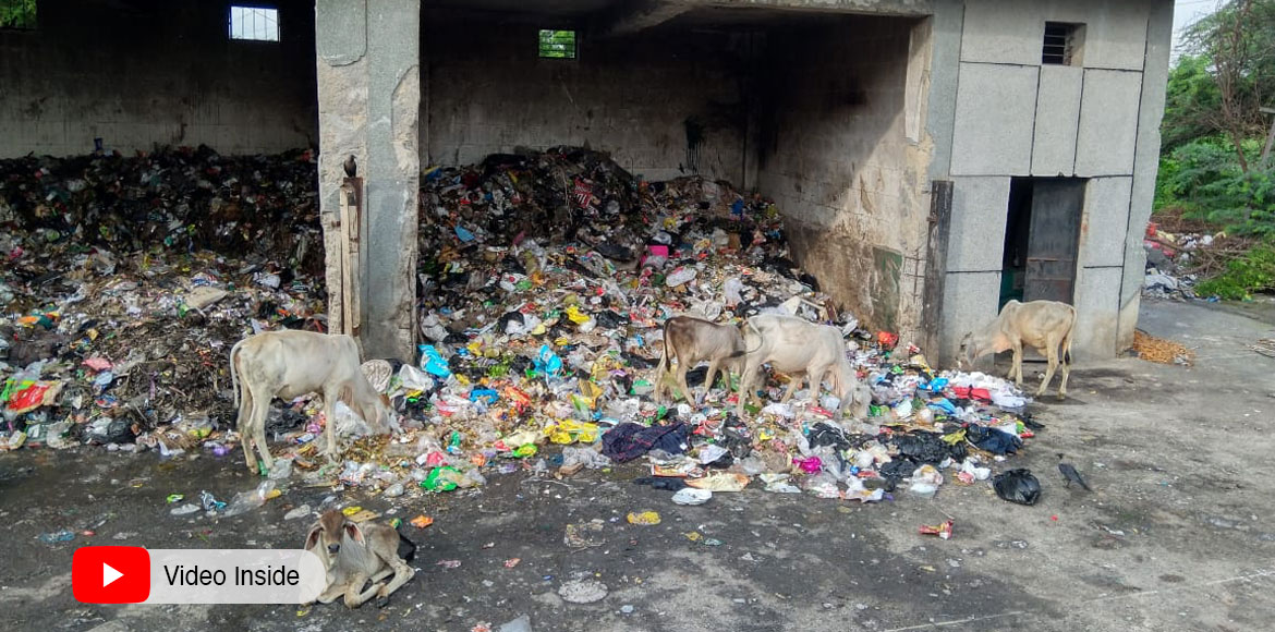 Dwarka Garbage Crisis: Dhalao at sector 5 troublin