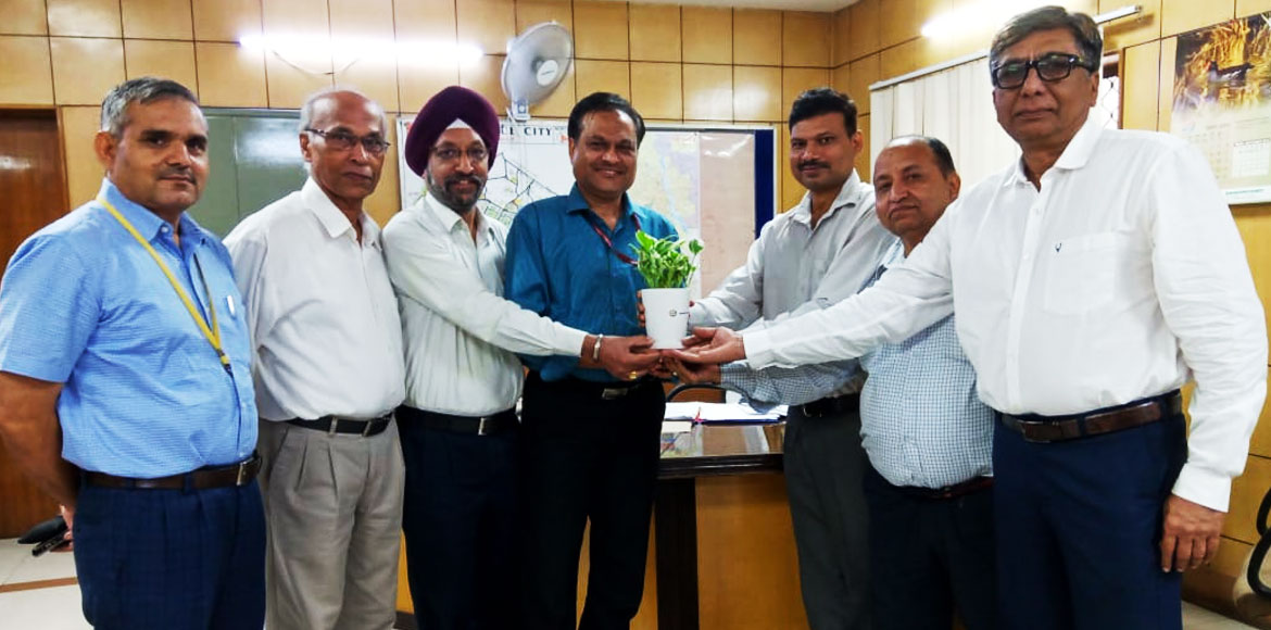 Resident bodies meet new Chief Engineer of Dwarka