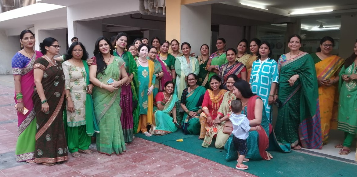 PHOTO KATHA: Women across Greater Noida celebrate Hariyali Teej