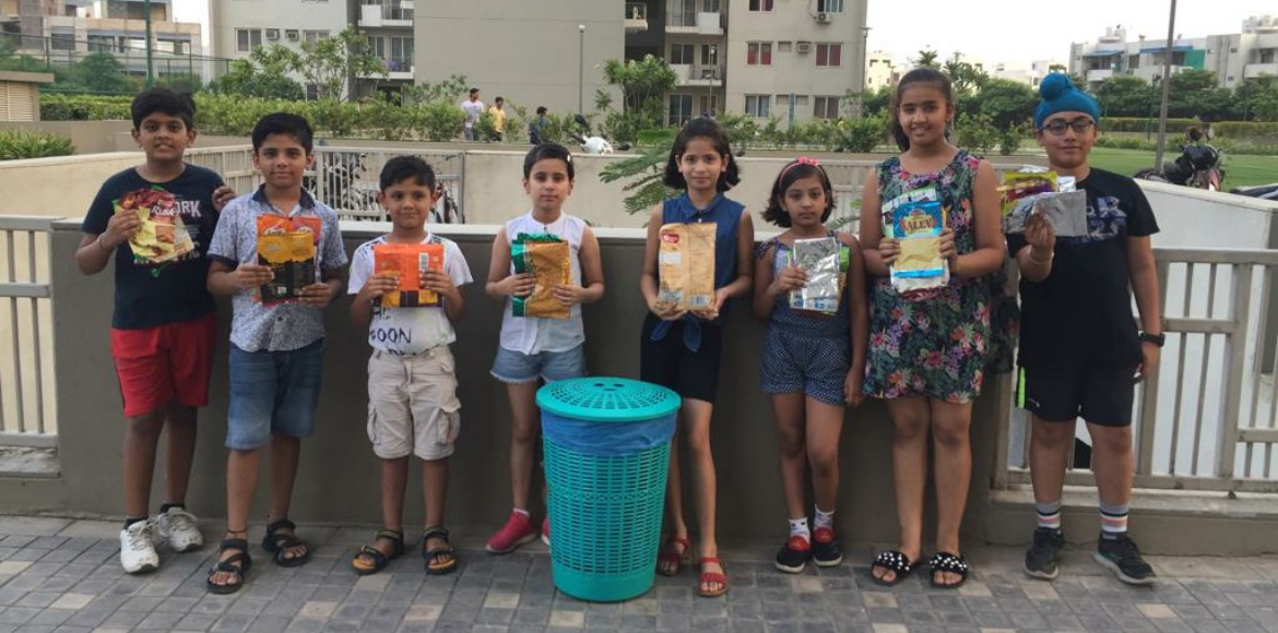 Gurugram residents join hands to make city plastic