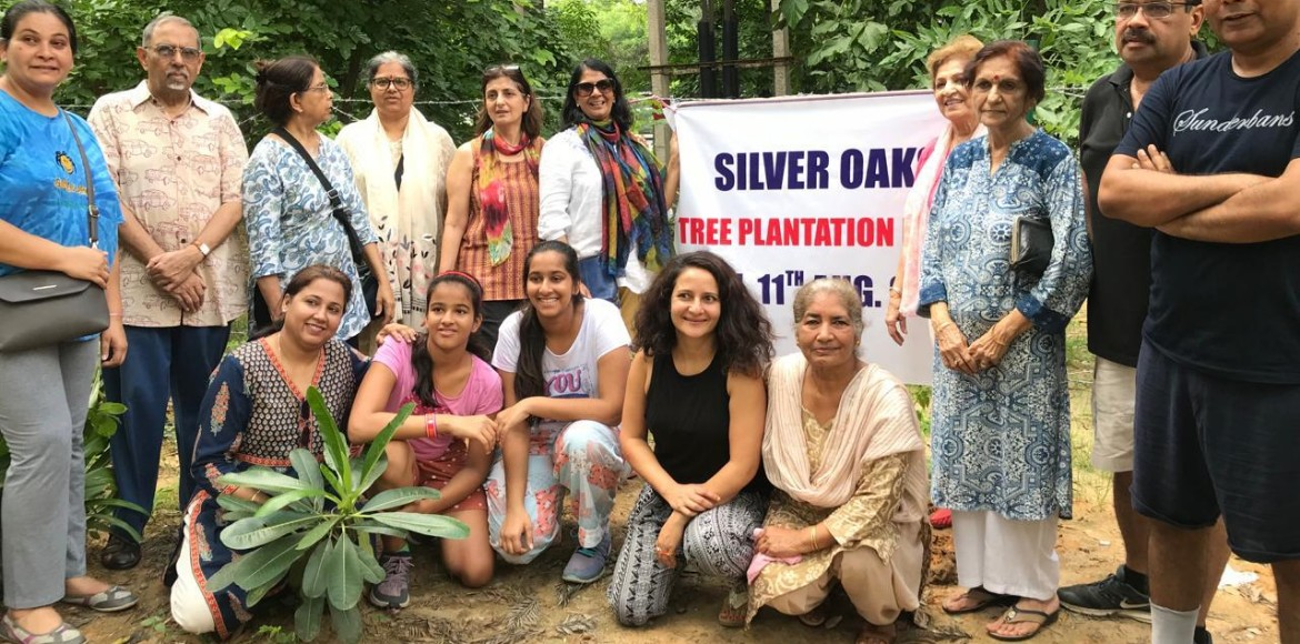 Gurugram: Silver Oaks residents carried out a plan
