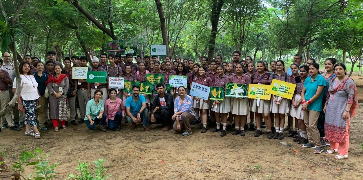 I Am Gurgaon orgainse plantation drive, aims for g