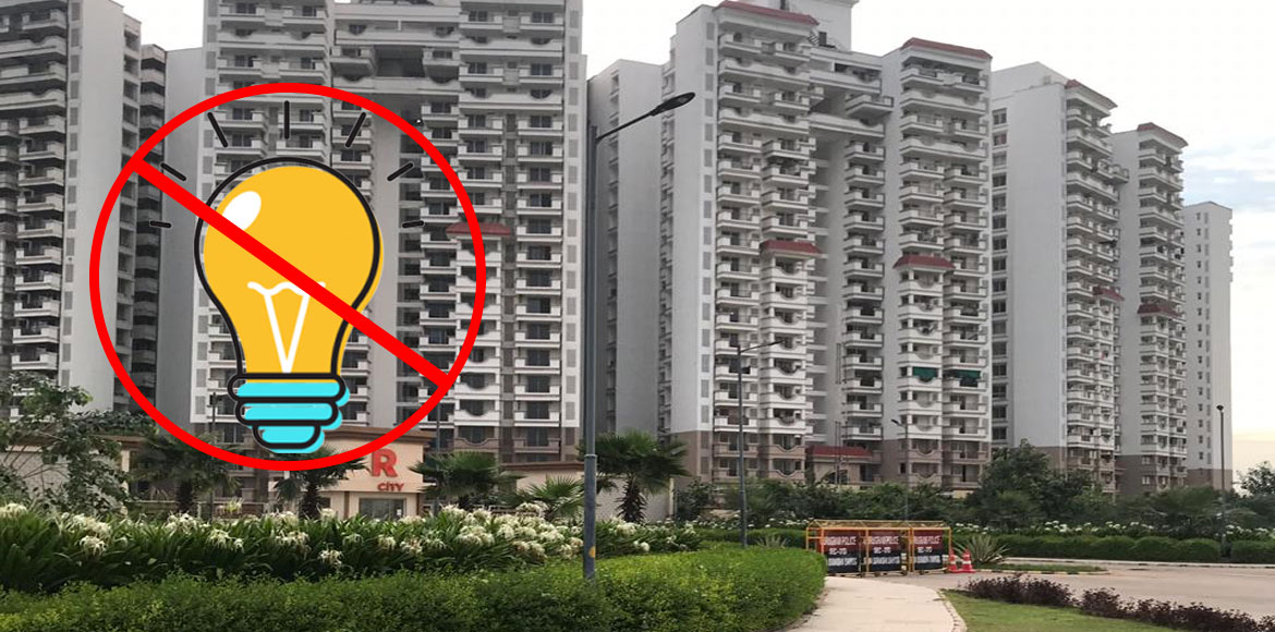 Gurugram: Ramprastha City residents complain about illegal power disconnection