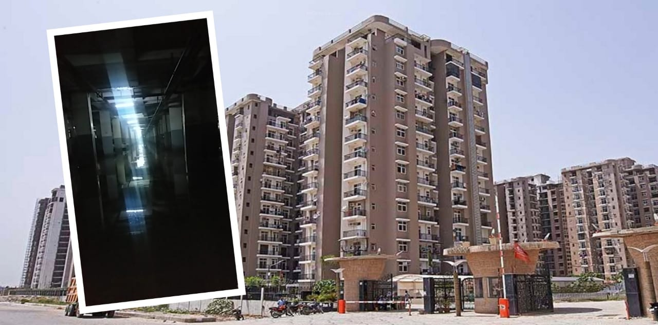 Noida: Amrapali Zodiac residents complain against clogged water in basement