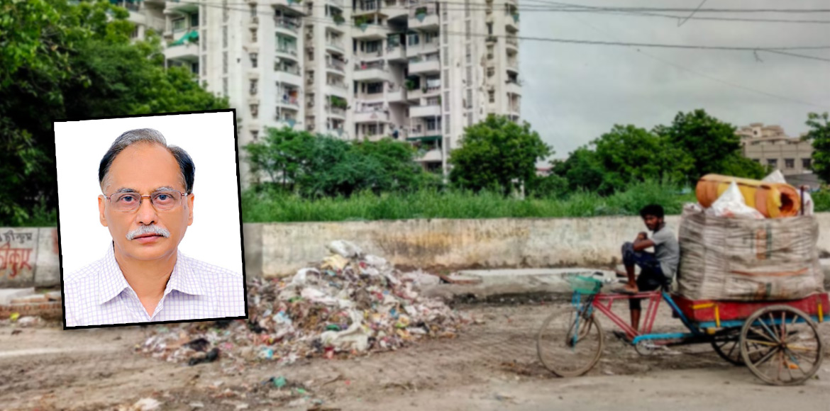 Resident Speak: Dump yard at sector 7 Dwarka irk r