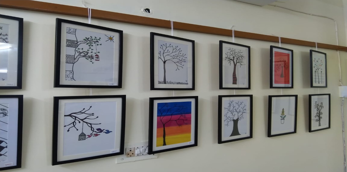 Painting exhibition organised for community in Dwarka's sector 6