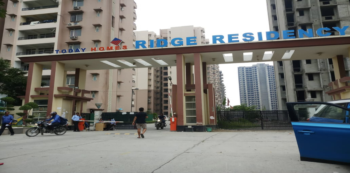 Noida: Today Homes Ridge Residency residents living with inadequate facilities