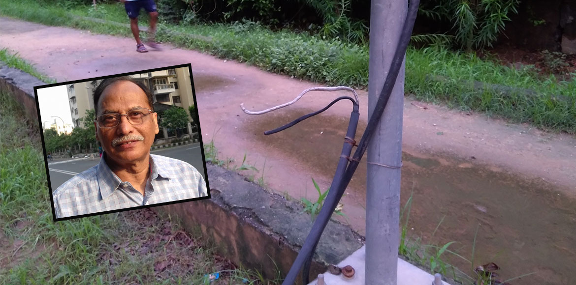 RESIDENT SPEAK: Open wires at park pose threat to visitors in Dwarka