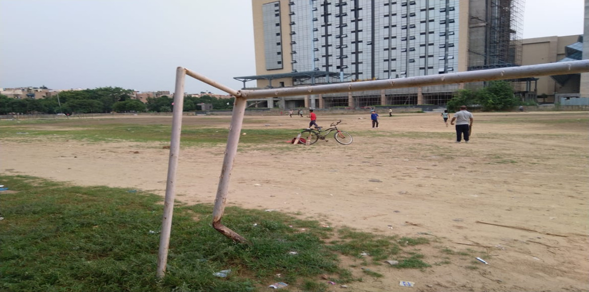 Dwarka: Temporary play ground scheme of DDA failed to connect RWAs