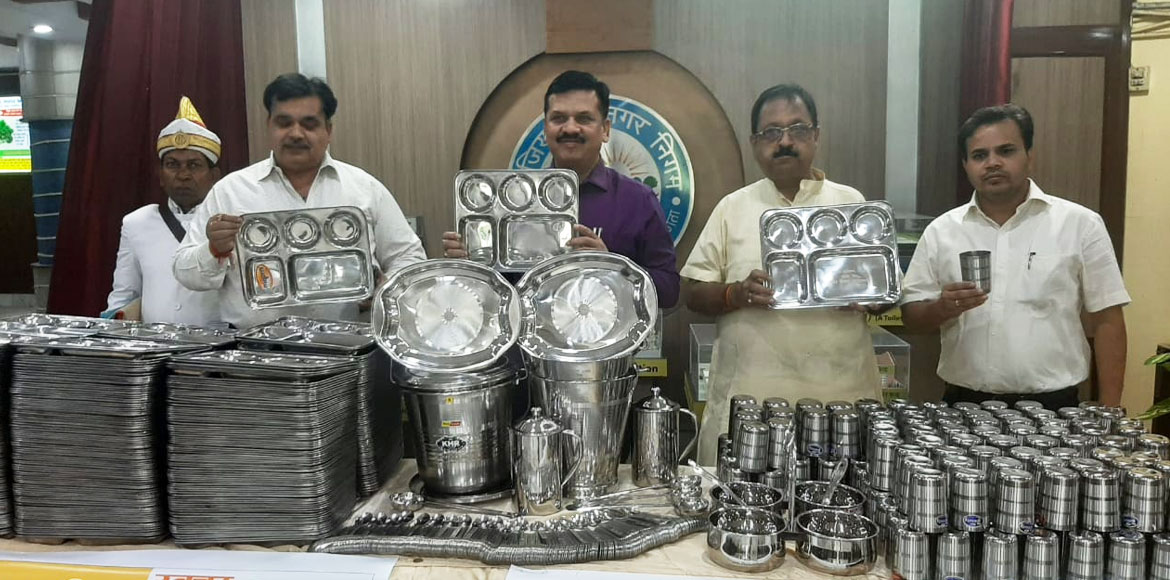 Ghaziabad: Now borrow steel utensils for free from