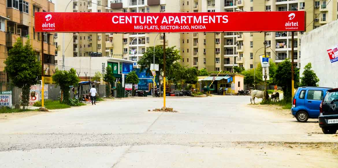 Century Apartments: Residents contribute generously for crockery bank