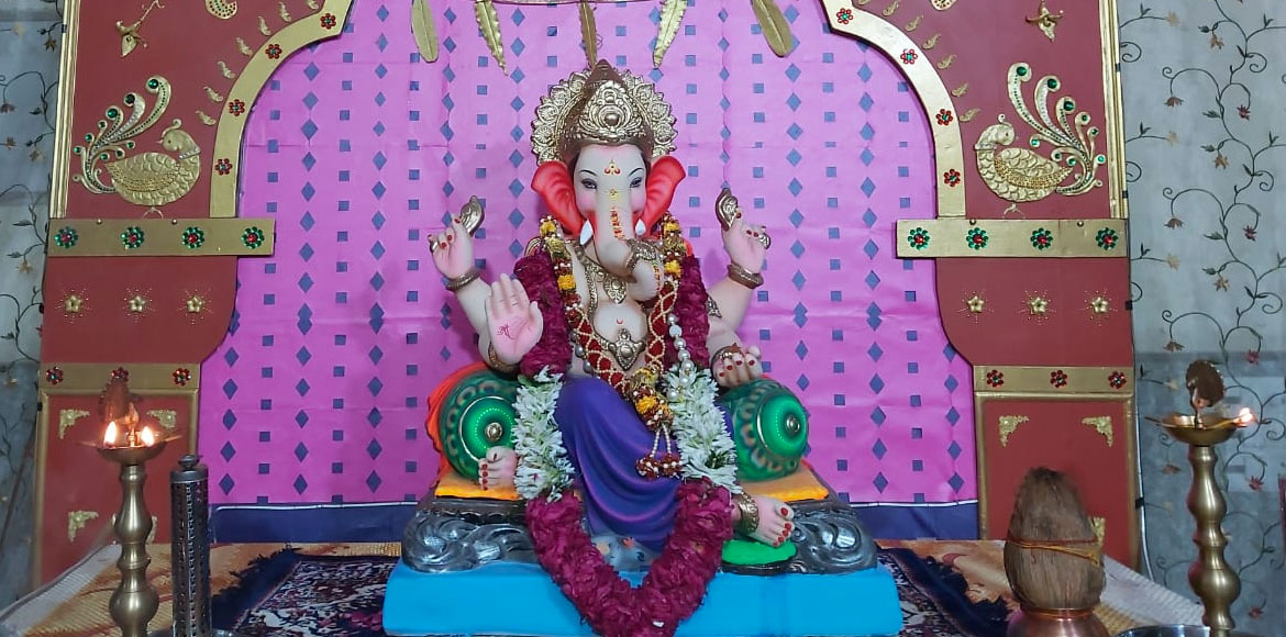 Photo Katha: True Friends residents celebrate Ganesh Chaturthi in Dwarka