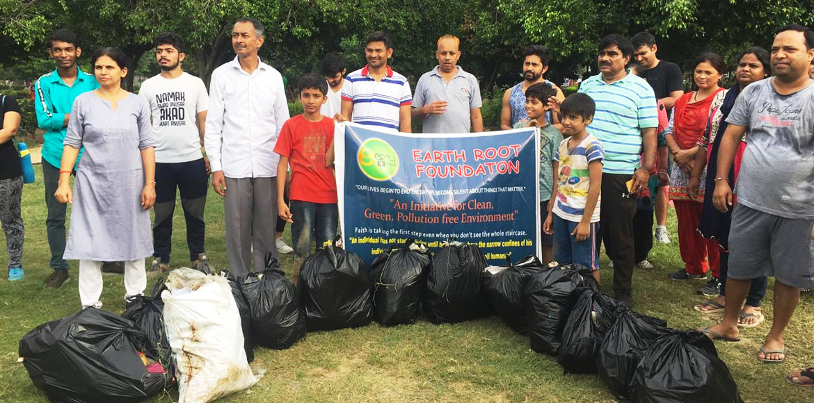 World Cleanup Day: Earth Root Foundation initiates plastic free drive in Dwarka
