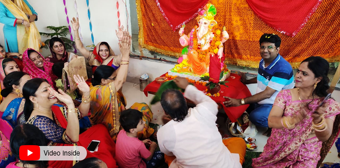 GreNo: Residents at Highrises celebrate Ganesh Chaturthi