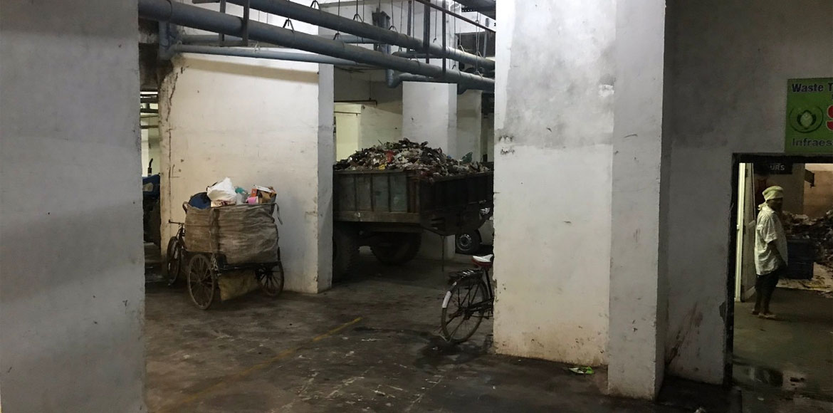 GreNo: Gaur City-2 residents annoyed over basement turned into dump yard