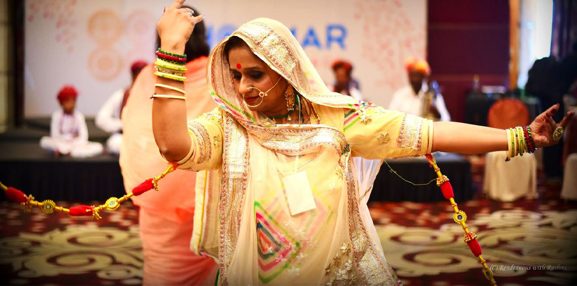 Ghoomar: Enchanting twirls celebrate Rajasthan in Gurugram