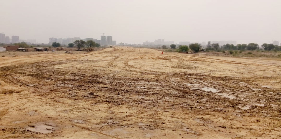 75 pc land acquisition process for Jewar Airport is accomplished