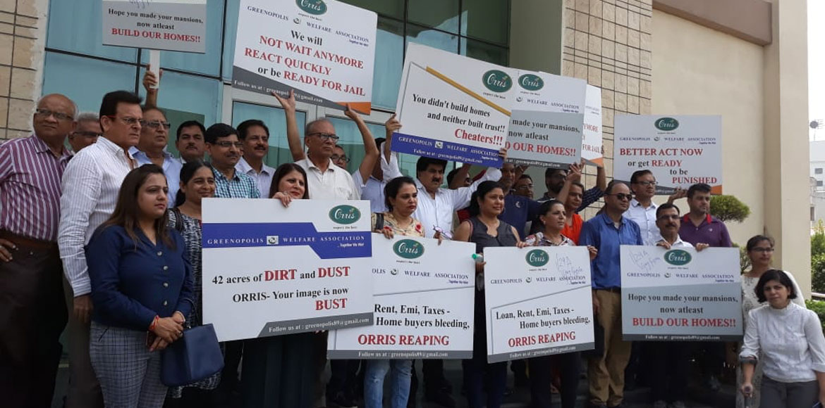 Gurugram: Greenopolis residents get upset after hearing postponed in HRERA