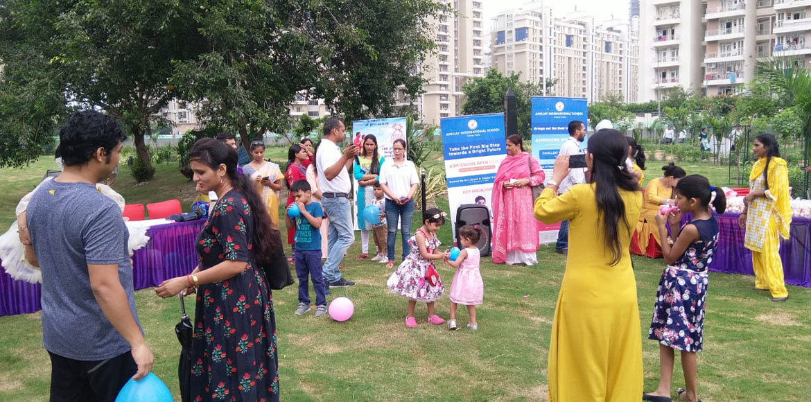 Noida: 'Healthy Baby' contest held at sector 137
