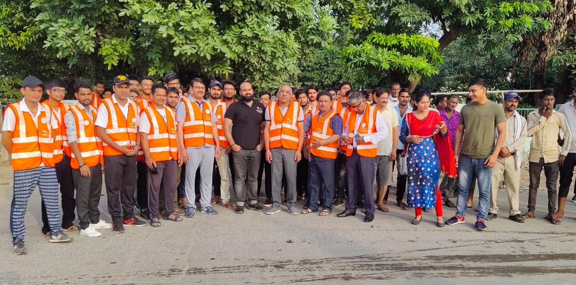 MCG team celebrates 'World Cleanup Day' with drive at Sec 10