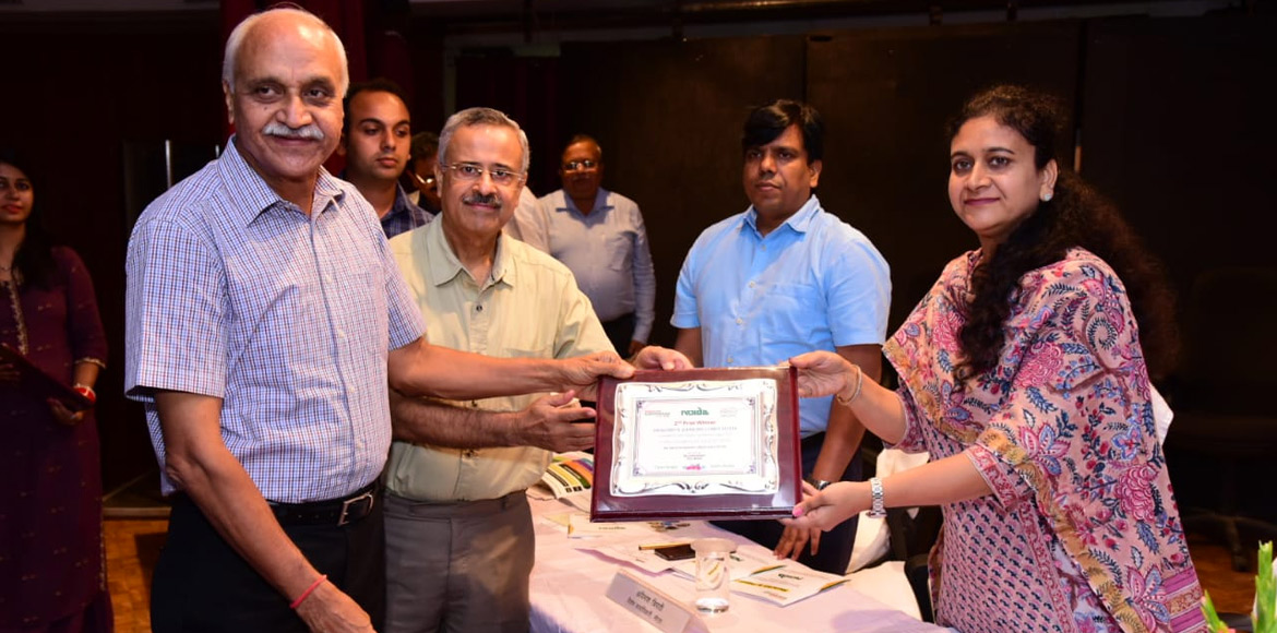 Noida Authority honours RWAs for maintaining cleanliness