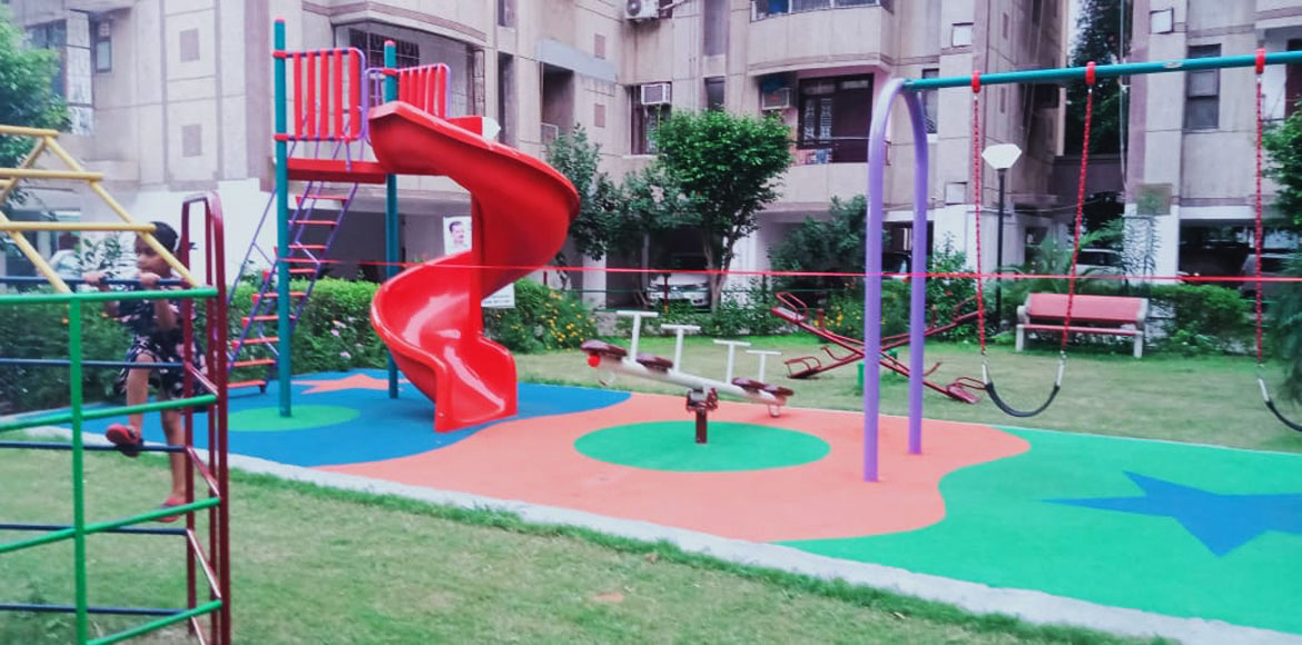Dwarka: Residentsaim to stay fit this fall-winter