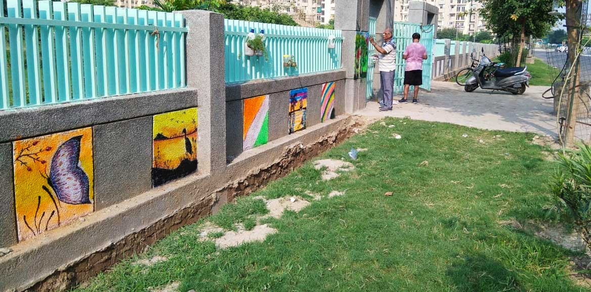Noida: Sector 137 residents transform public park