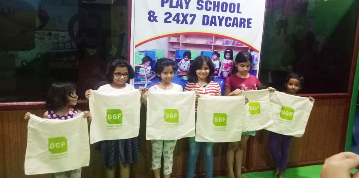 Noida: Learning experience for kids on healthy environment through activities