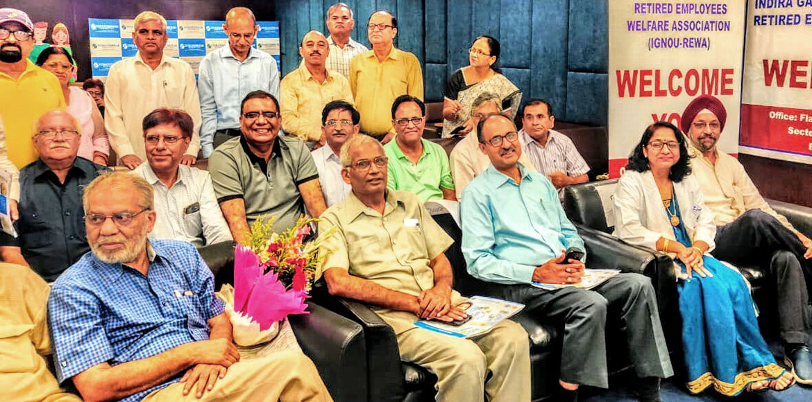 Dwarka: IGNOU-REWA organises health talks on heart