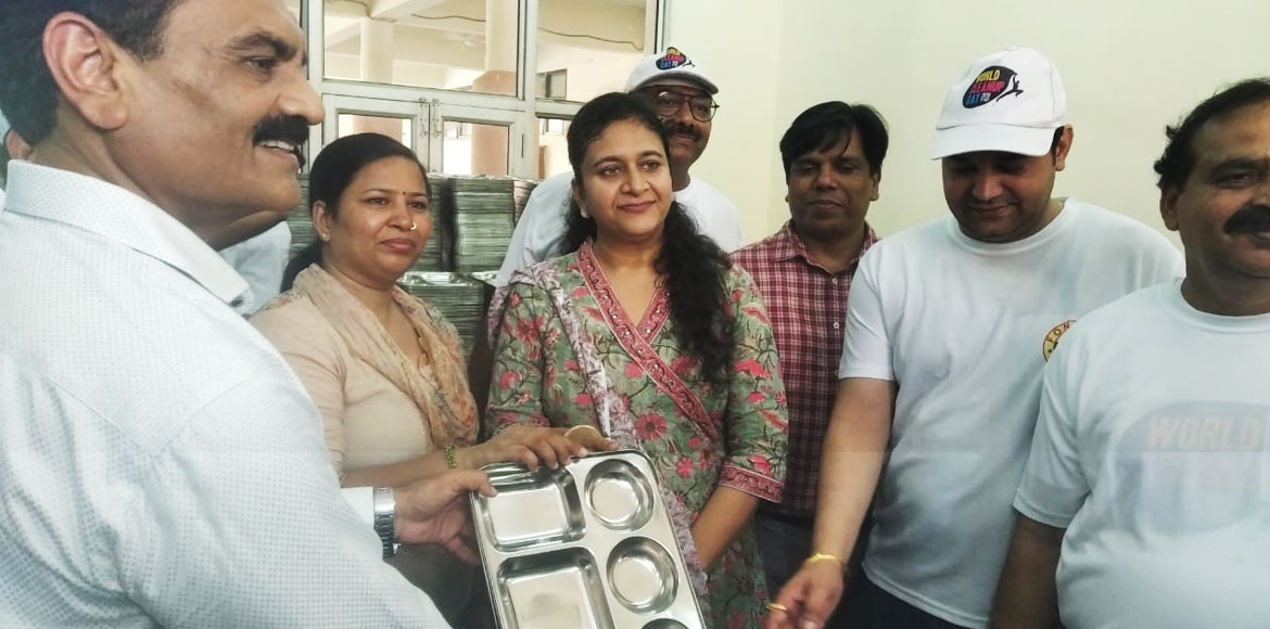 Noida Authority comes up with crockery bank to curb plastic use