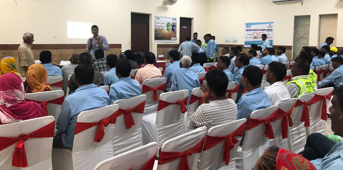 Noida authority organises training workshops for sanitation workers