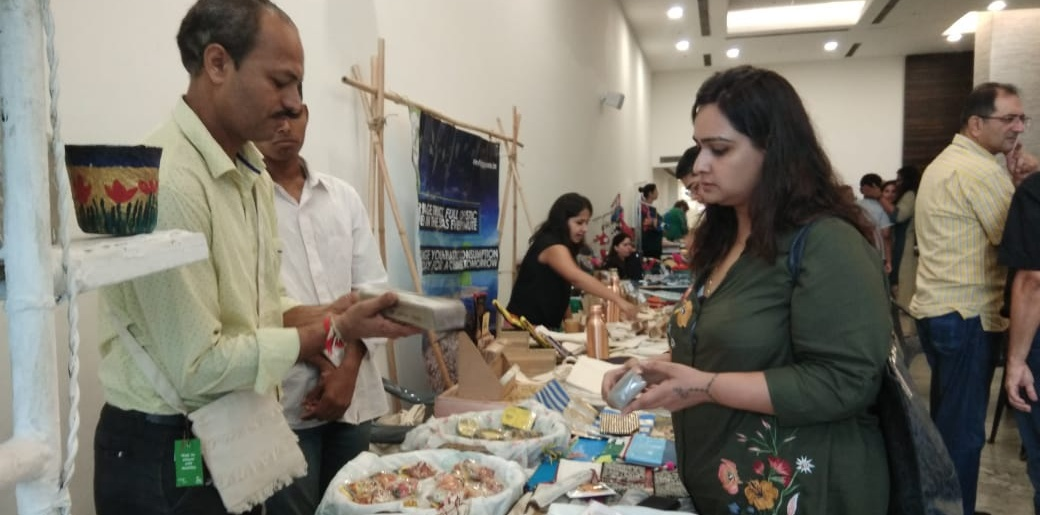 Gurugram: The Belaire holds 'Green Haat'