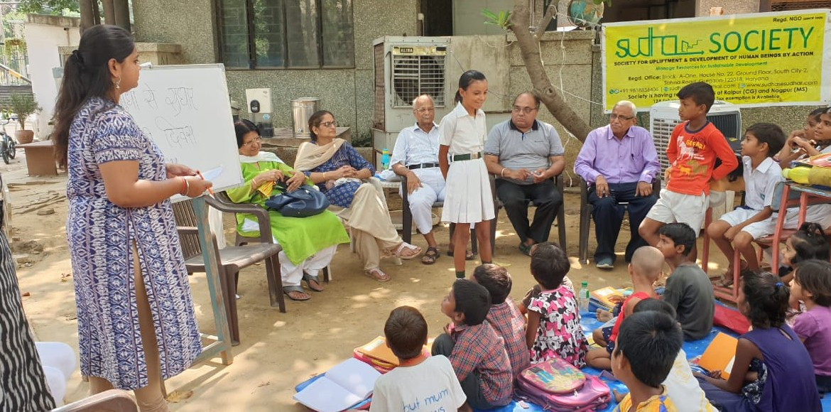 Gurugram: Sudha Open School students celebrate 'Hindi Diwas'